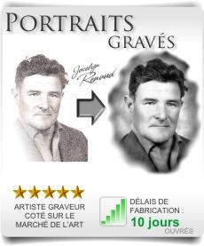 Photo gravée, portraits et photogravure