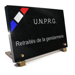 Plaque UNPRG retraités de la gendarmerie