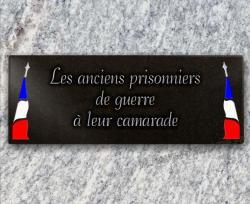 Plaque anciens prisonniers de guerre