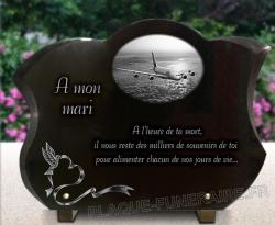 Plaque de tombe avion - 5
