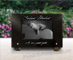 Plaque de tombe chat - 5