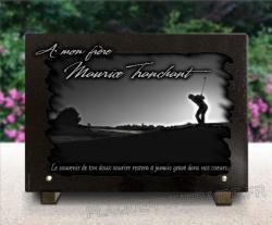 Plaque mortuaire Gravure-personnalisee,graveur