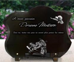 Plaque  Motos