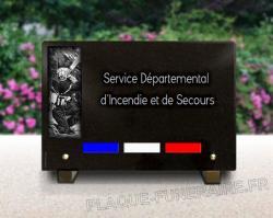 Plaque personnalisée Pompier,soldat,feu,incendie