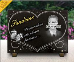 Plaque  papillon - 4