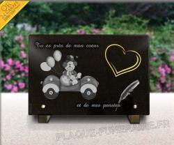 plaques mortuaires bebe personnalisables en ligne page 1. Black Bedroom Furniture Sets. Home Design Ideas