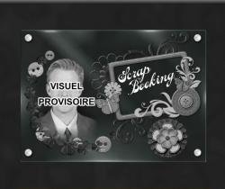 Plaque funeraire  scrapbooking-arabesques-portraits