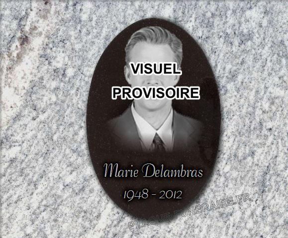 M daillon photo plaque fun raire ovale en granit 30x20 - Medaillon funeraire avec photo ...