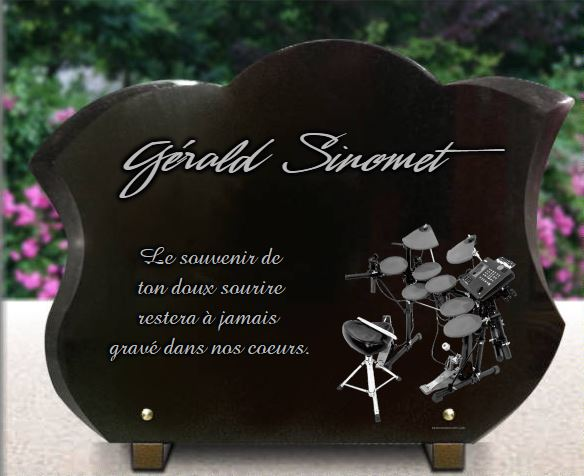 plaque fun raire originale avec batterie pour batteur musicien. Black Bedroom Furniture Sets. Home Design Ideas