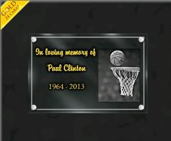 Customized memorial plaques Sports-other