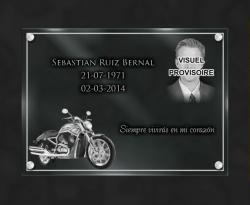 Placas de cementerio Motos