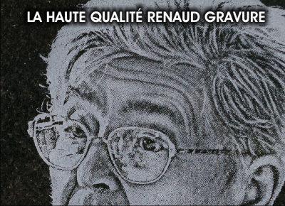 portrait gravé par RENAUD Gravure