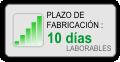 Plazo de fabricación : 10 días laborables
