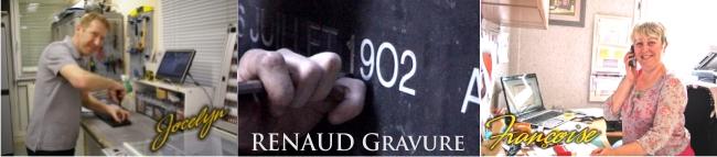 L'équipe RENAUD Gravure