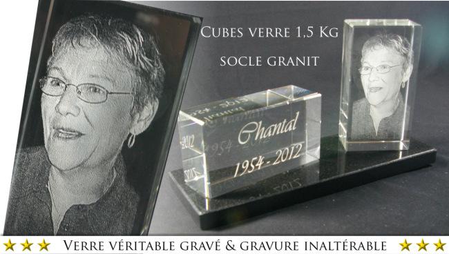 Modern grave plaque