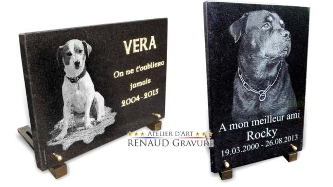 Grande collection de dessins fun�raires ou r�alisation sur mesure selon la demande.