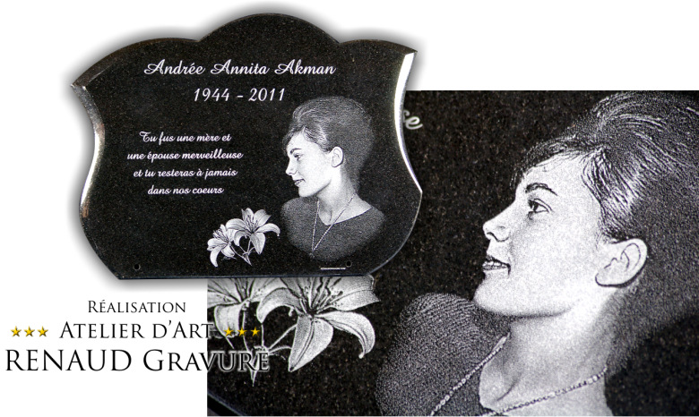 photos de plaque funeraire personnalisee page 3. Black Bedroom Furniture Sets. Home Design Ideas