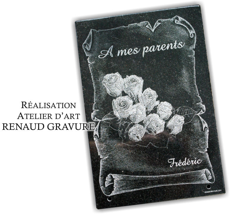 plaque funeraire fleur personnaliser bouquet de roses avec arums oeillets lys et iris. Black Bedroom Furniture Sets. Home Design Ideas