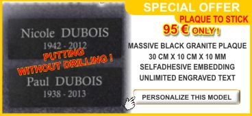 Memorial plaques on special offer cheap and in limited - Plaque mosaique adhesive ...