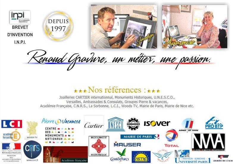Atelier RENAUD Gravure Funéraire